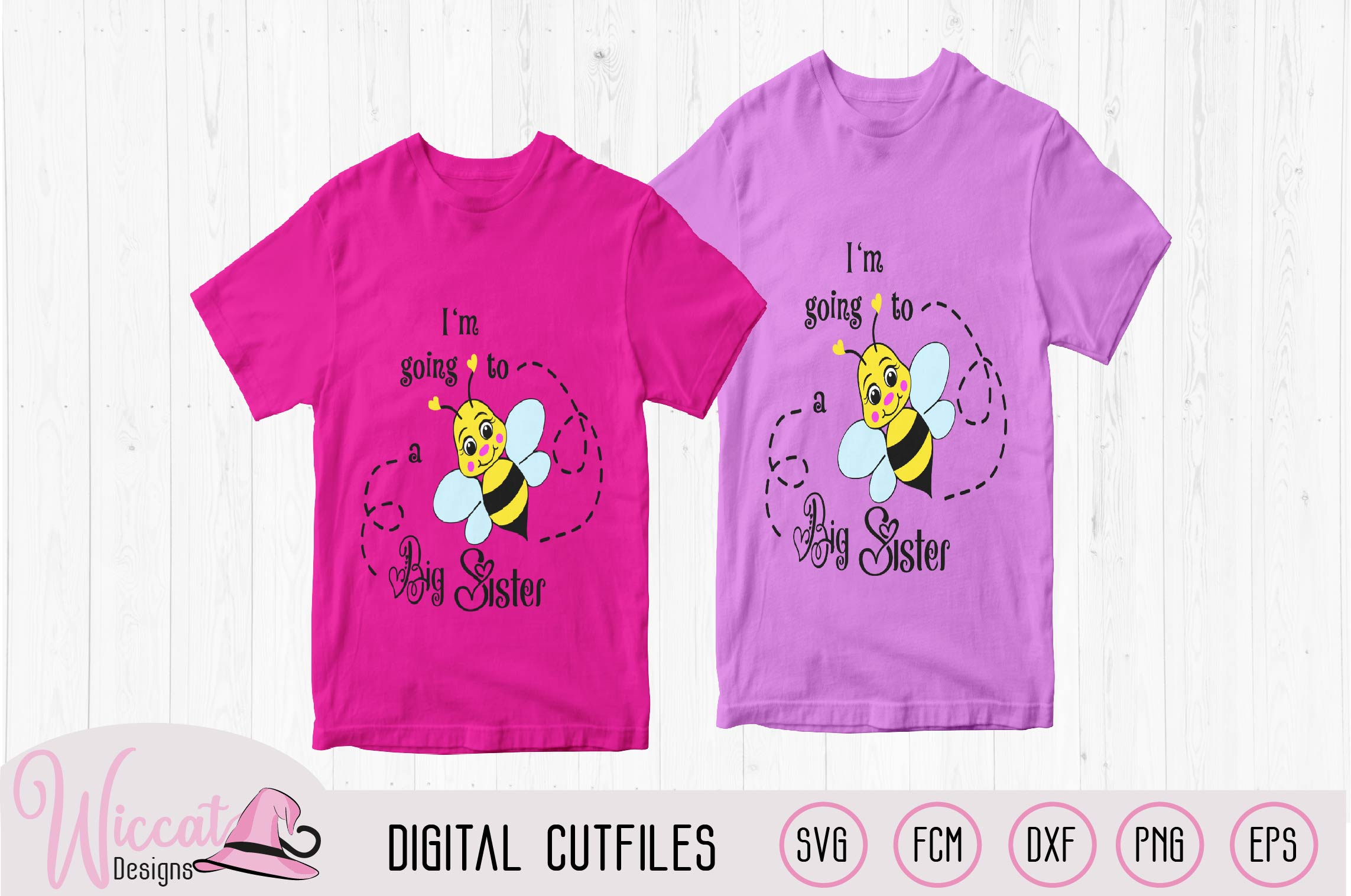 Big sister svg, kids svg, Bee quote svg, word art svg, example image 2
