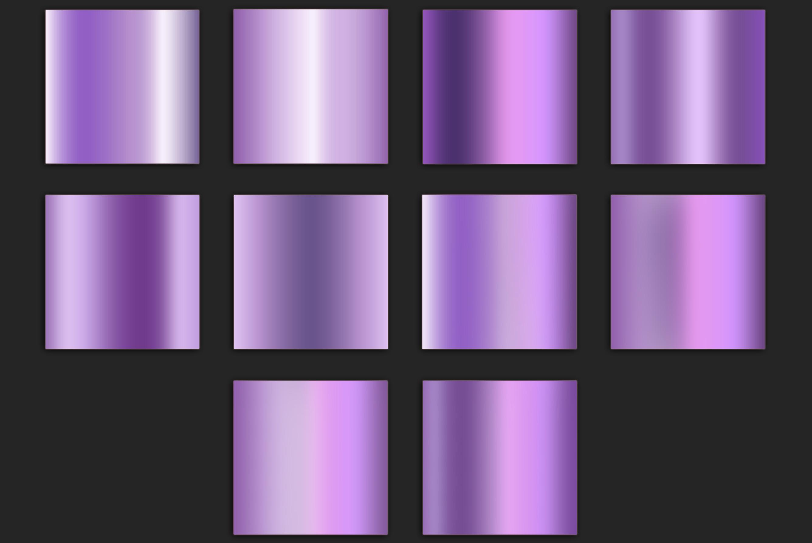 Purple Foil Textures example image 2
