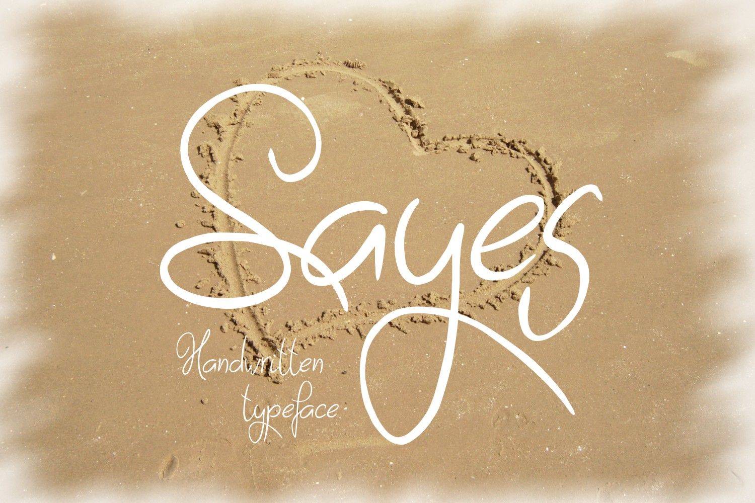Sayes Font example image 2