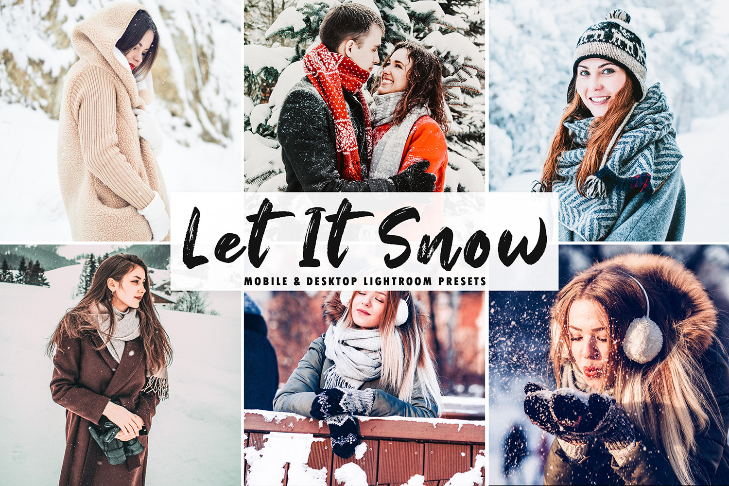 Let It Snow Mobile & Desktop Lightroom Presets example image 1