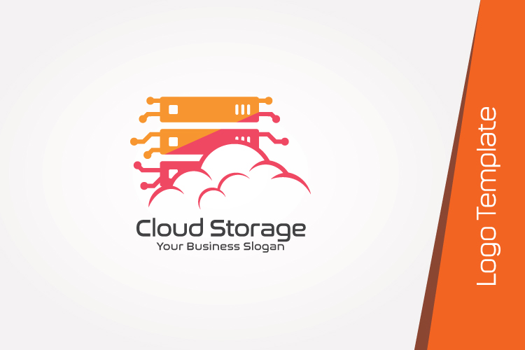 Cloud Hosting Logo Template example image 2