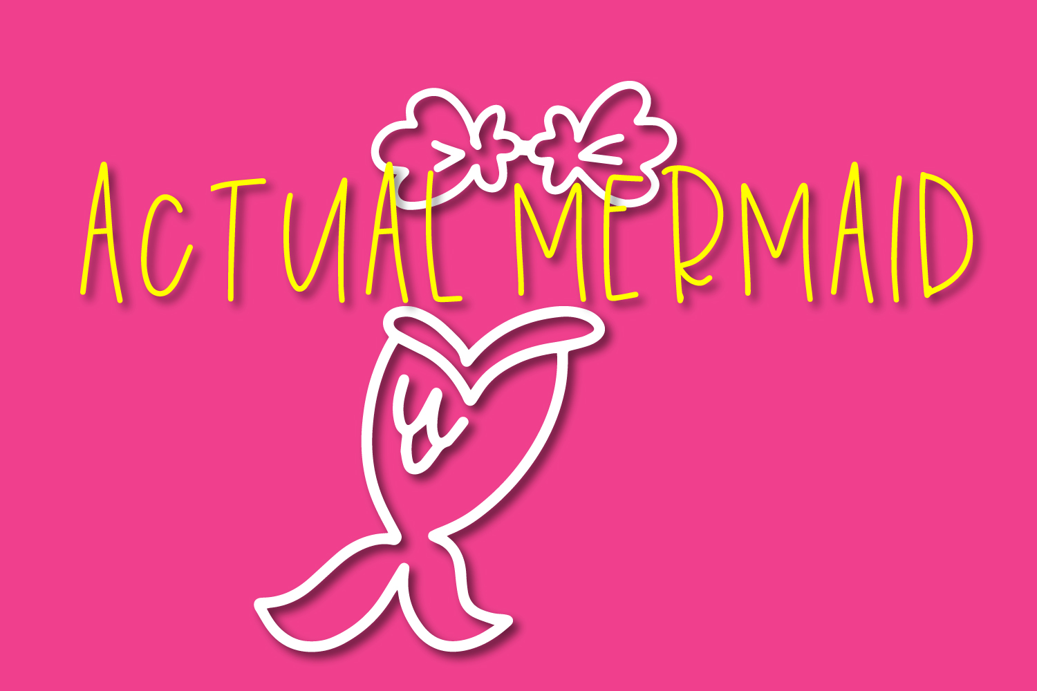 Overboard - A Mermaid Font Duo - Dingbat Font example image 3