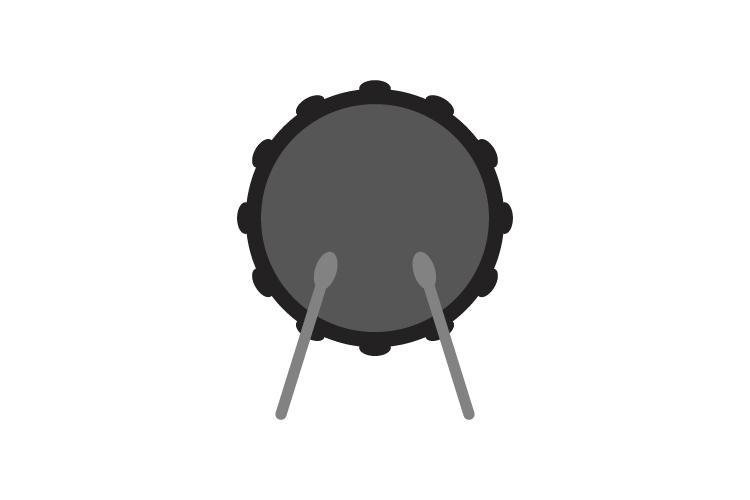 Drum icon example image 1