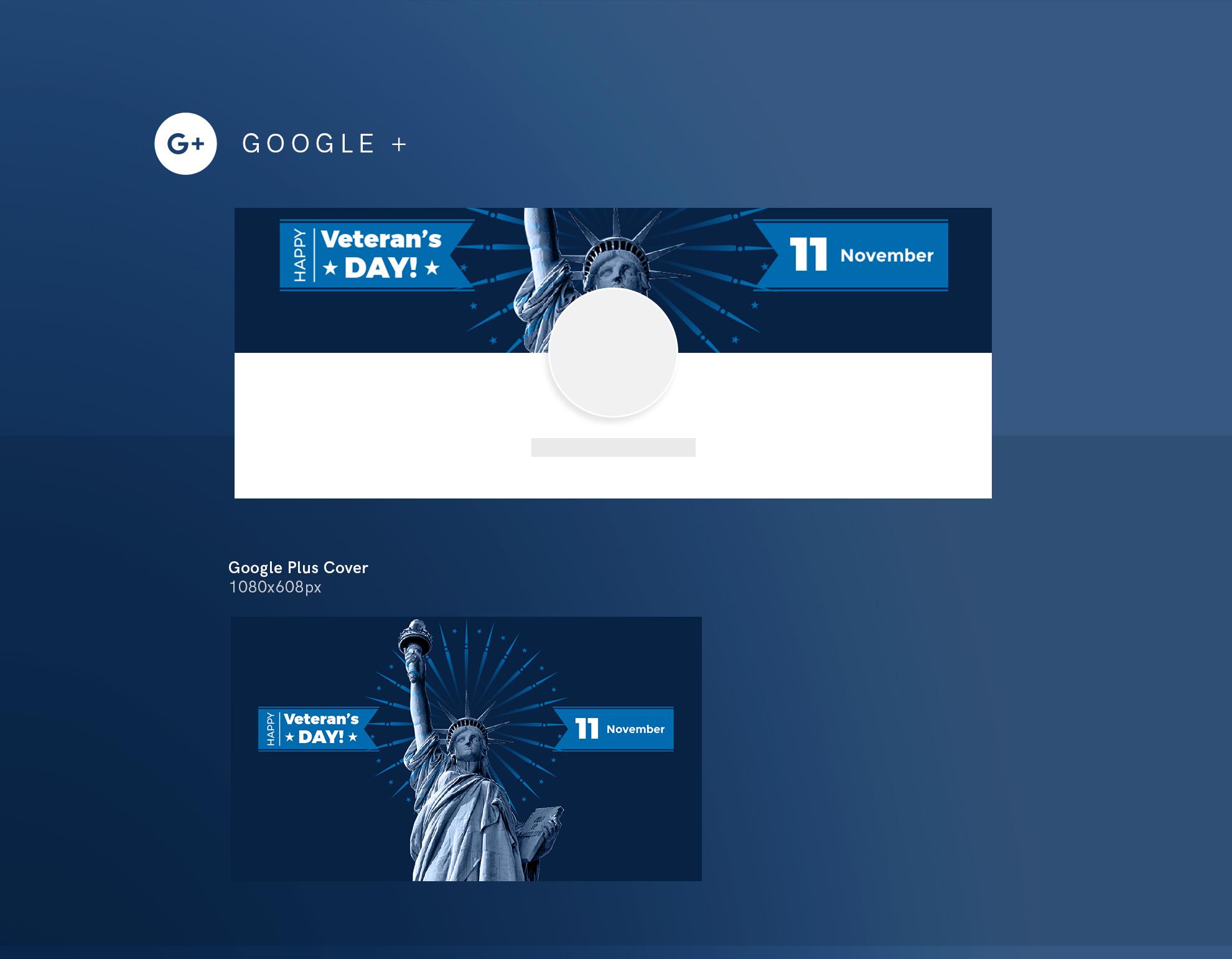 Veteran's Day Celebration Design Templates Bundle example image 8