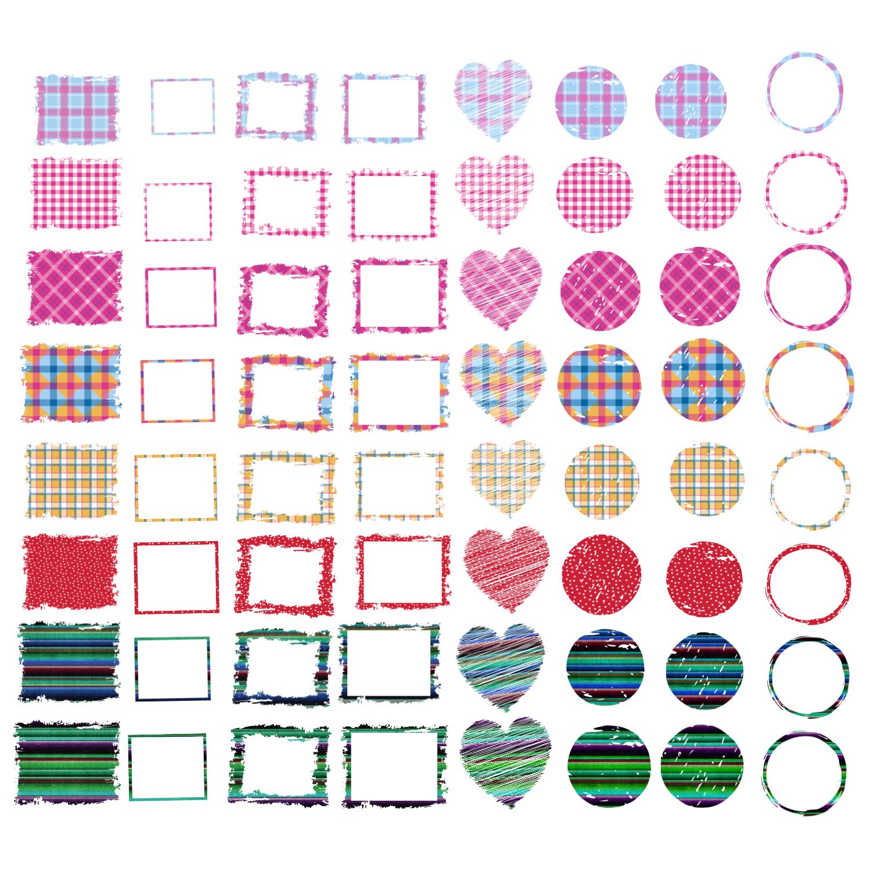 Backsplash Frames Bundle for Sublimation - 728 PNG Designs example image 7