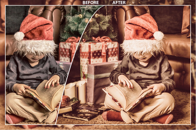 62 Christmas Mobile Lightroom Presets, X-mas Adobe LR preset example image 9