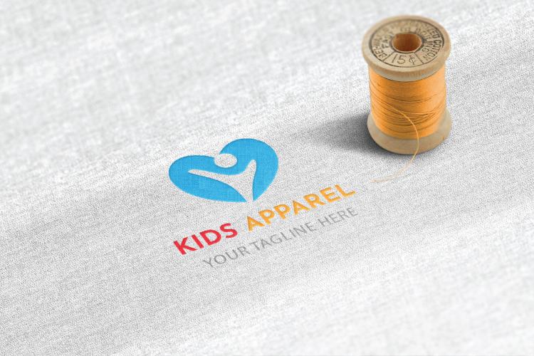 Kids Apparel Logo example image 4
