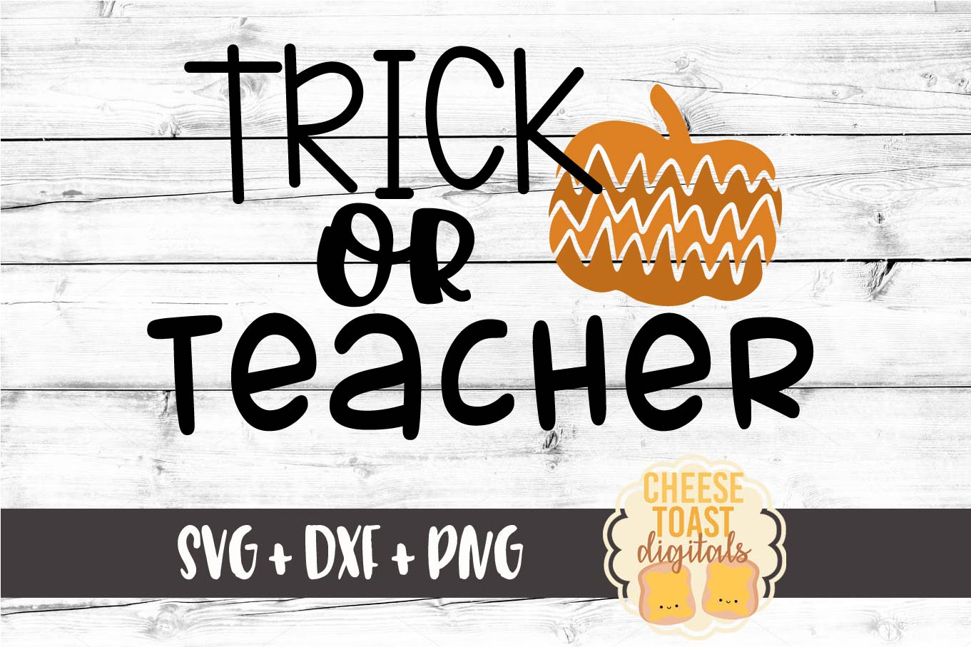 Trick or Teacher - Halloween SVG File example image 2