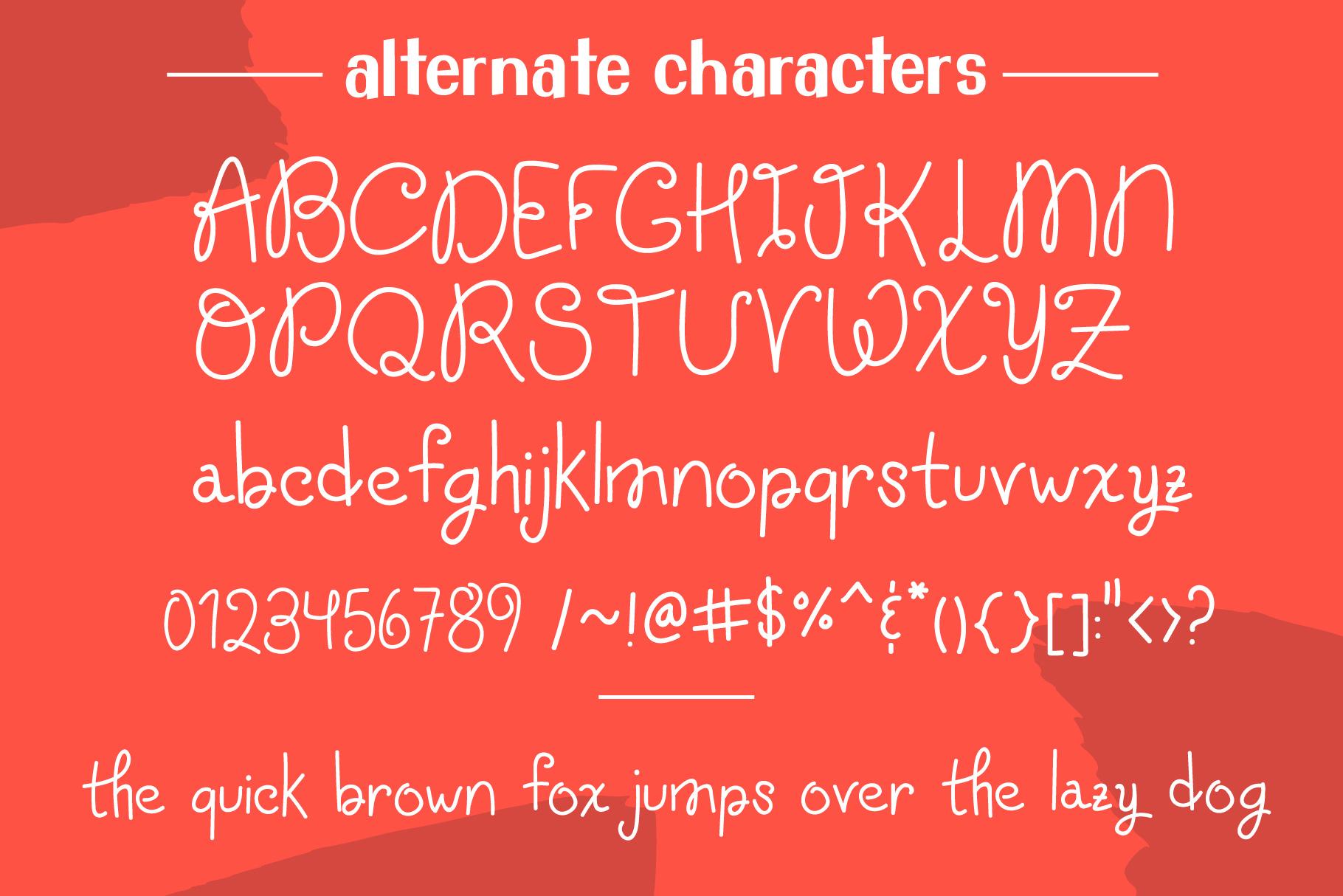 School Teacher Font Duo example image 4