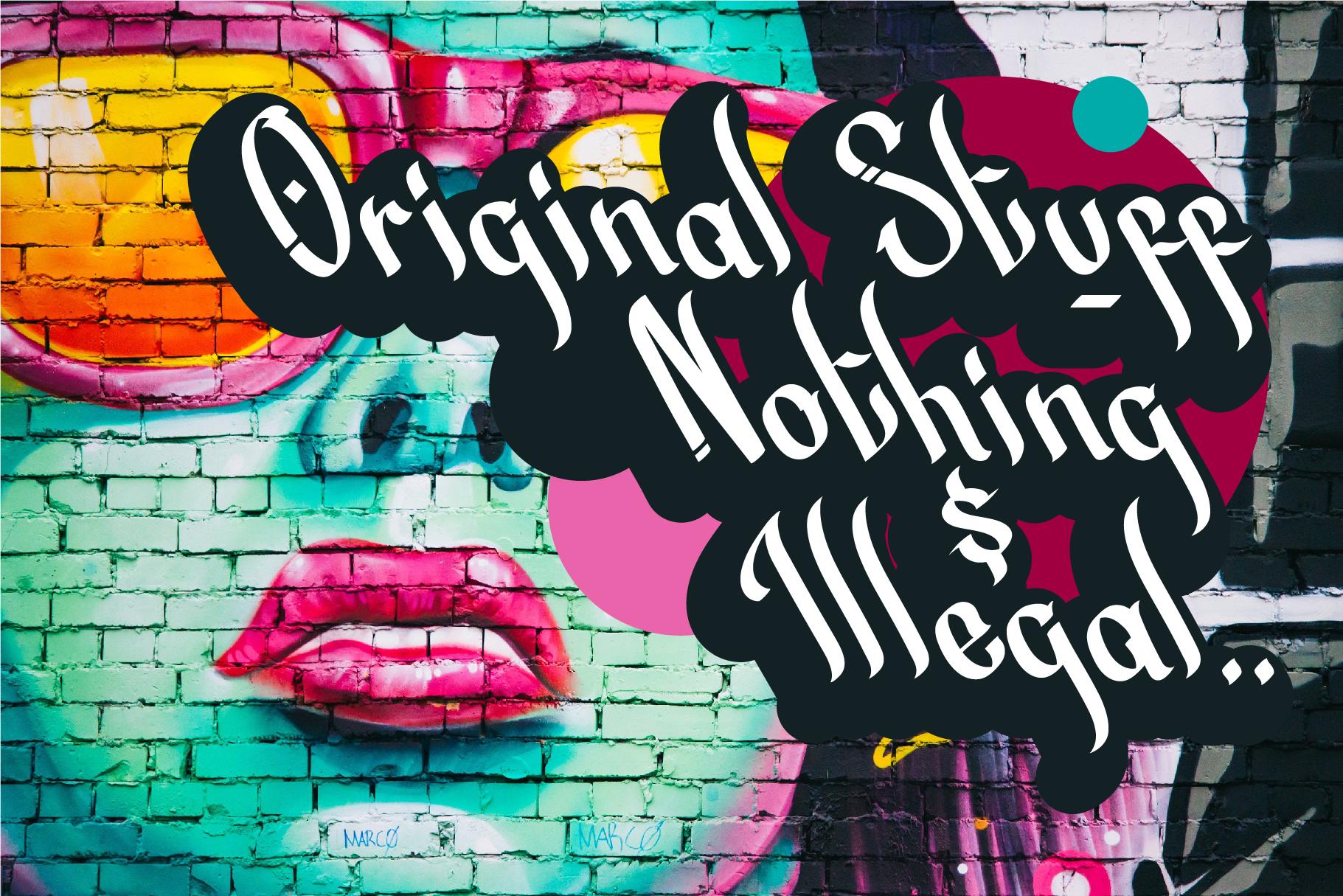 Street Beat Graffiti Typeface example image 4