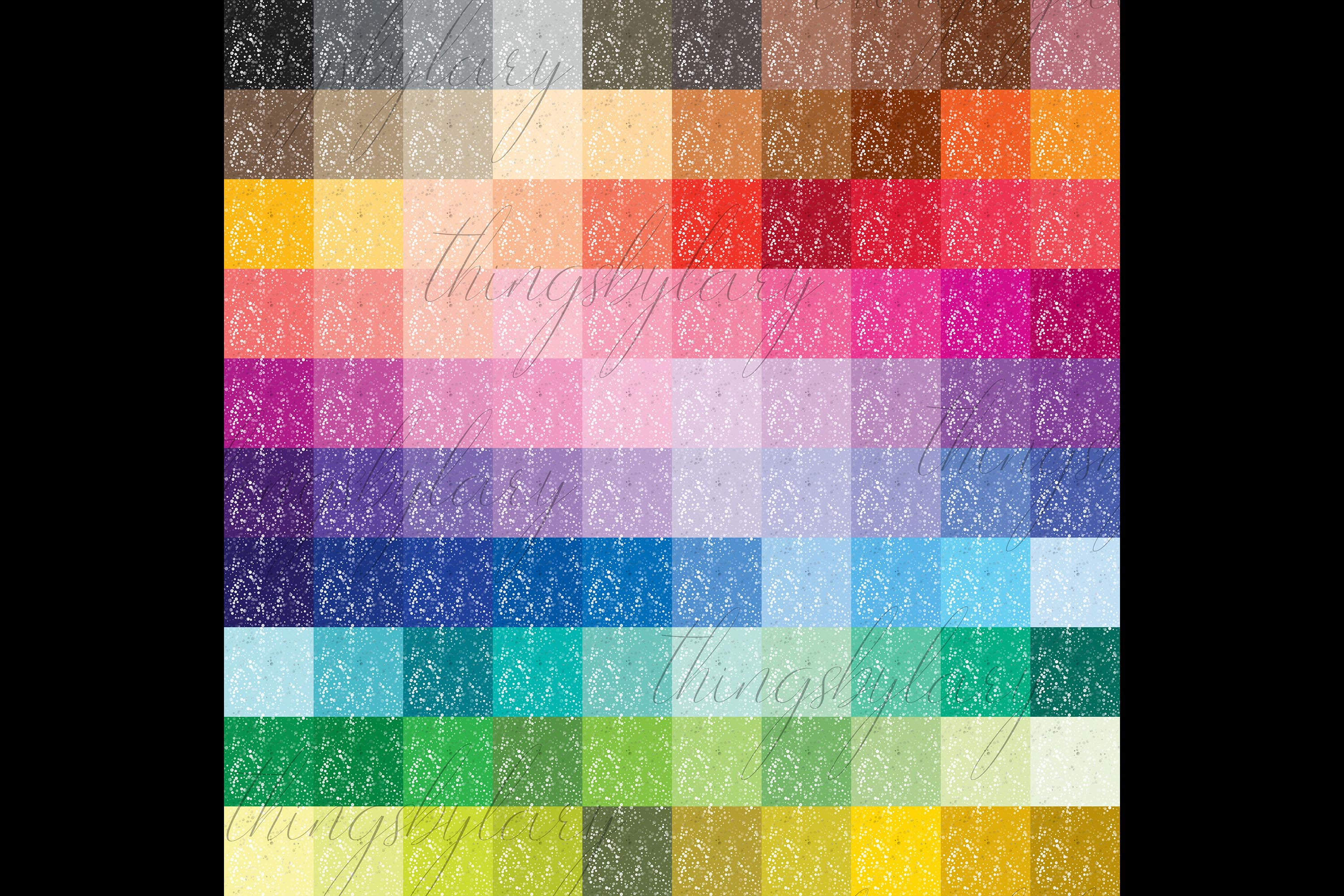 100 Seamless Color Metallic Foil Confetti Digital Papers example image 10
