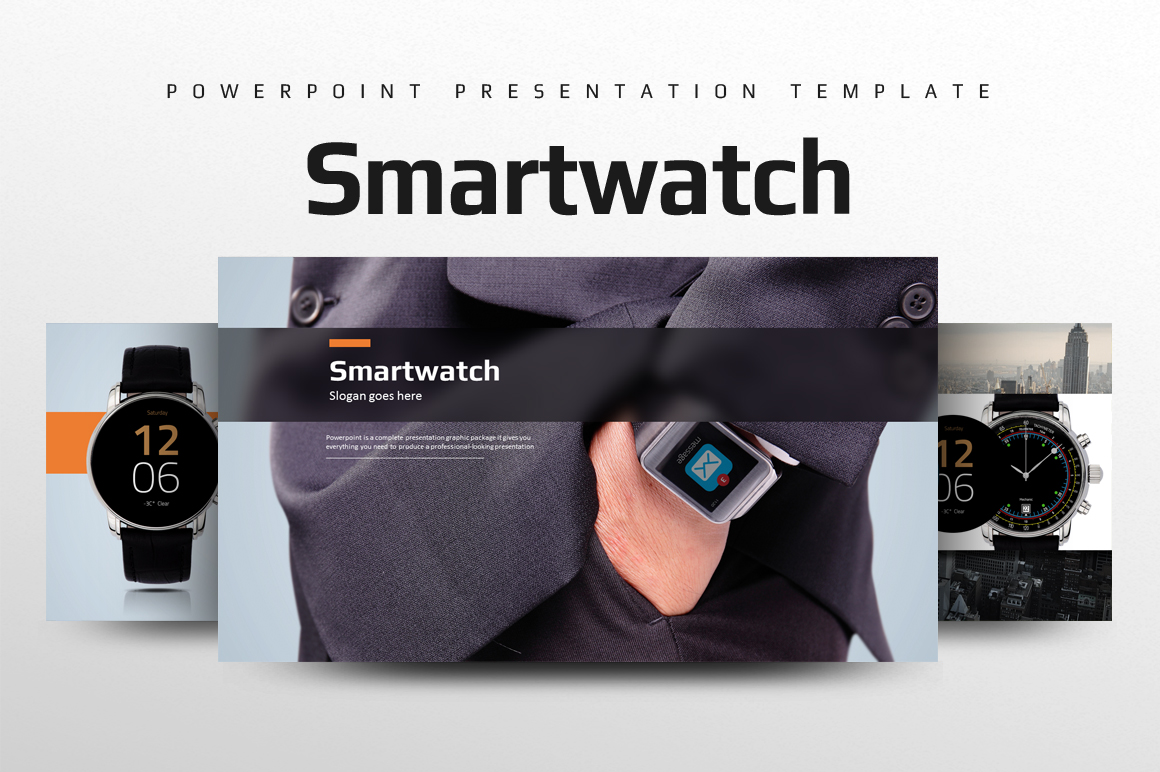 Smart Watch PPT example image 1