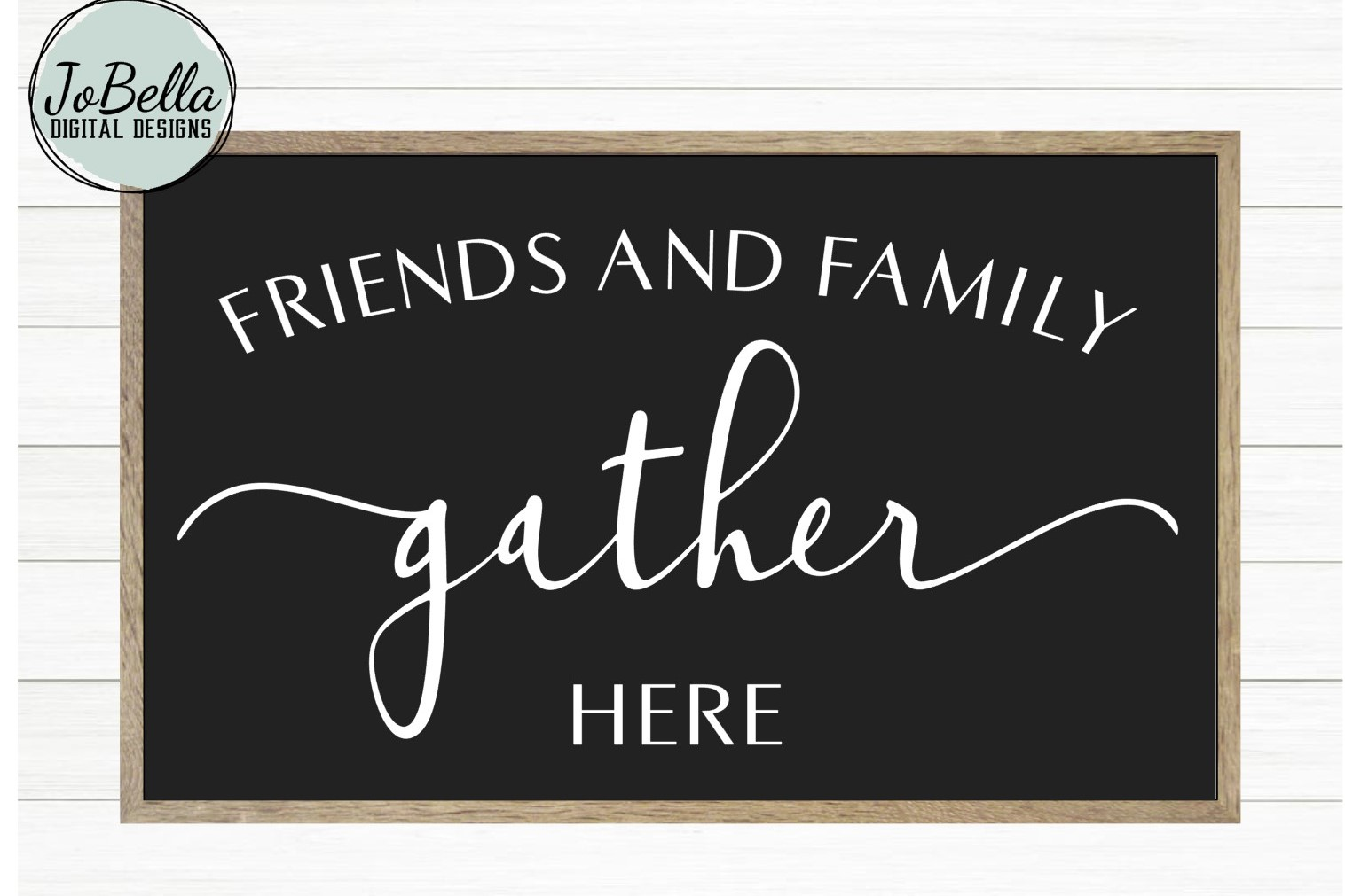 graphic regarding Gather Printable identified as Buddies and Family members Get Listed here Farmhouse SVG and Printable