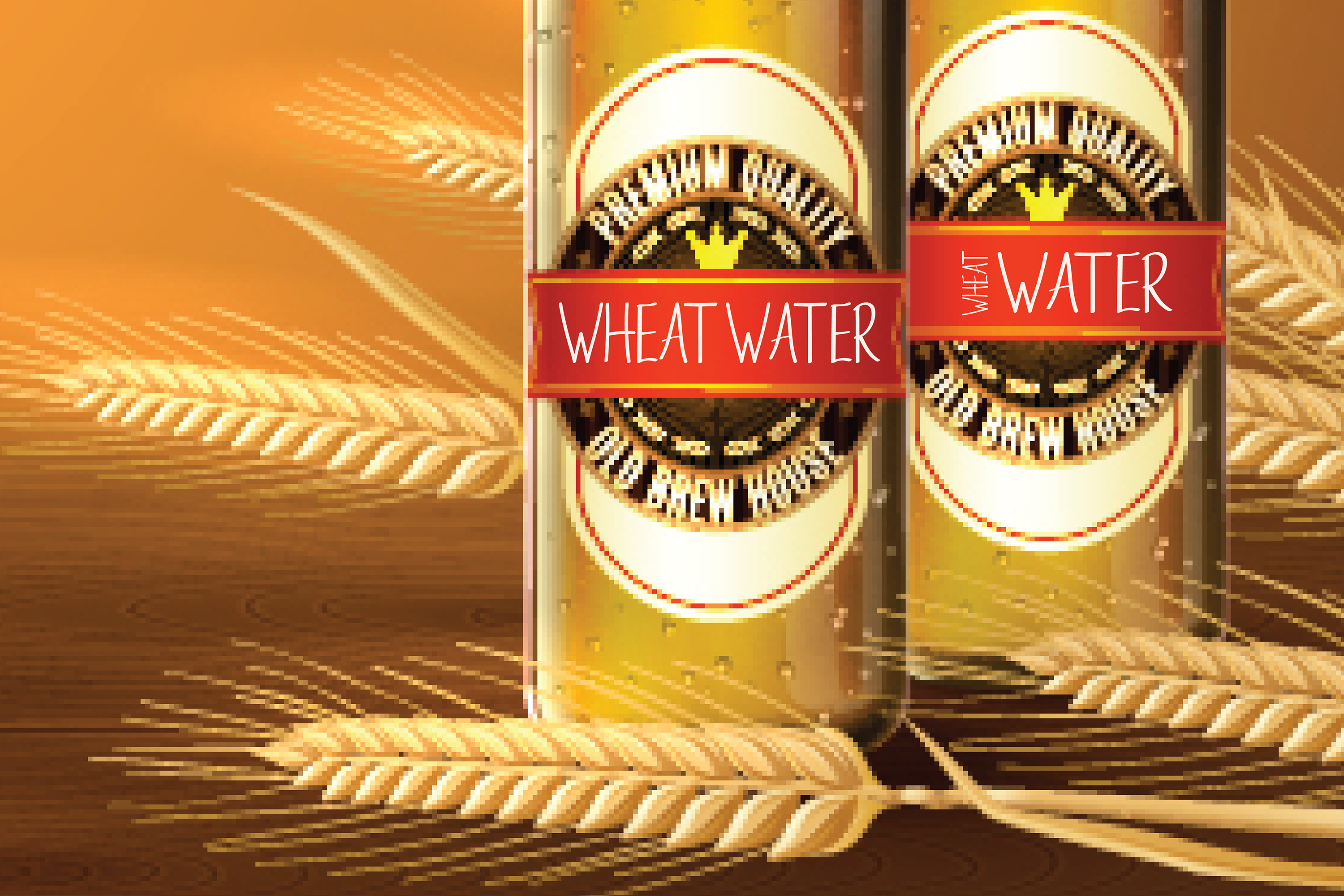Wheat Water - A Crafty Thin Handwritten Font example image 3