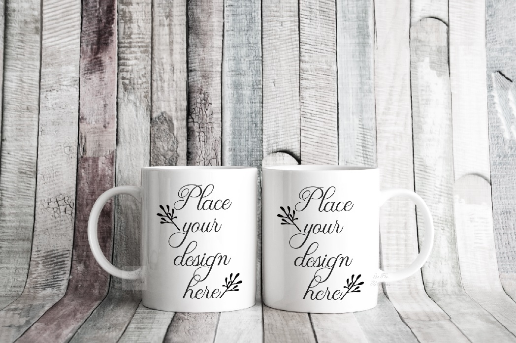 4x Bundle mug mockup PSD sublimation 11oz mugs mockups example image 2