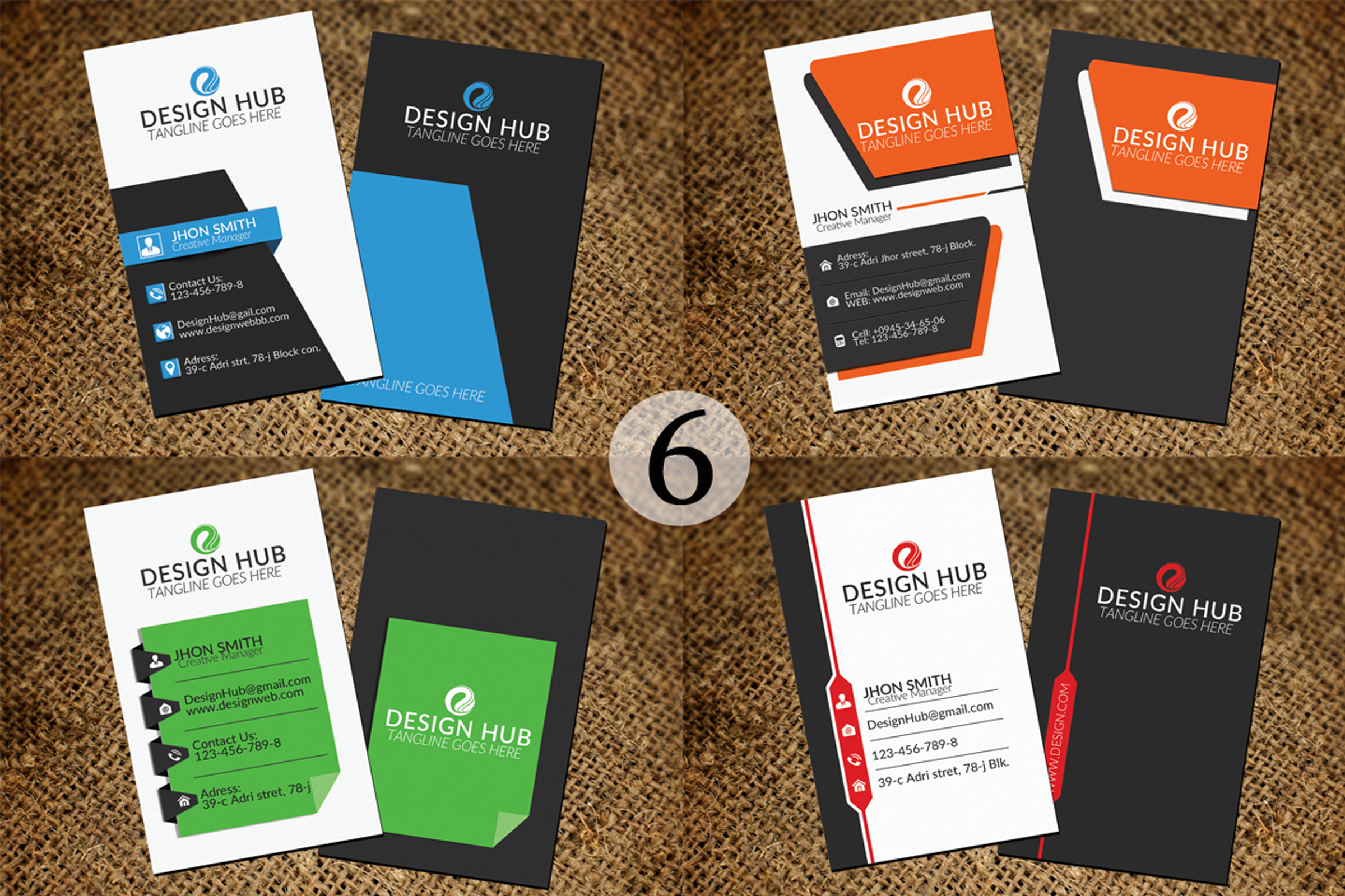 32 Business Cards Bundle Deal example image 7
