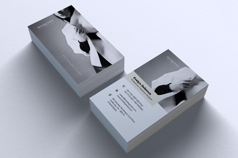 Minimalist Business Card Vol. 08 example image 3