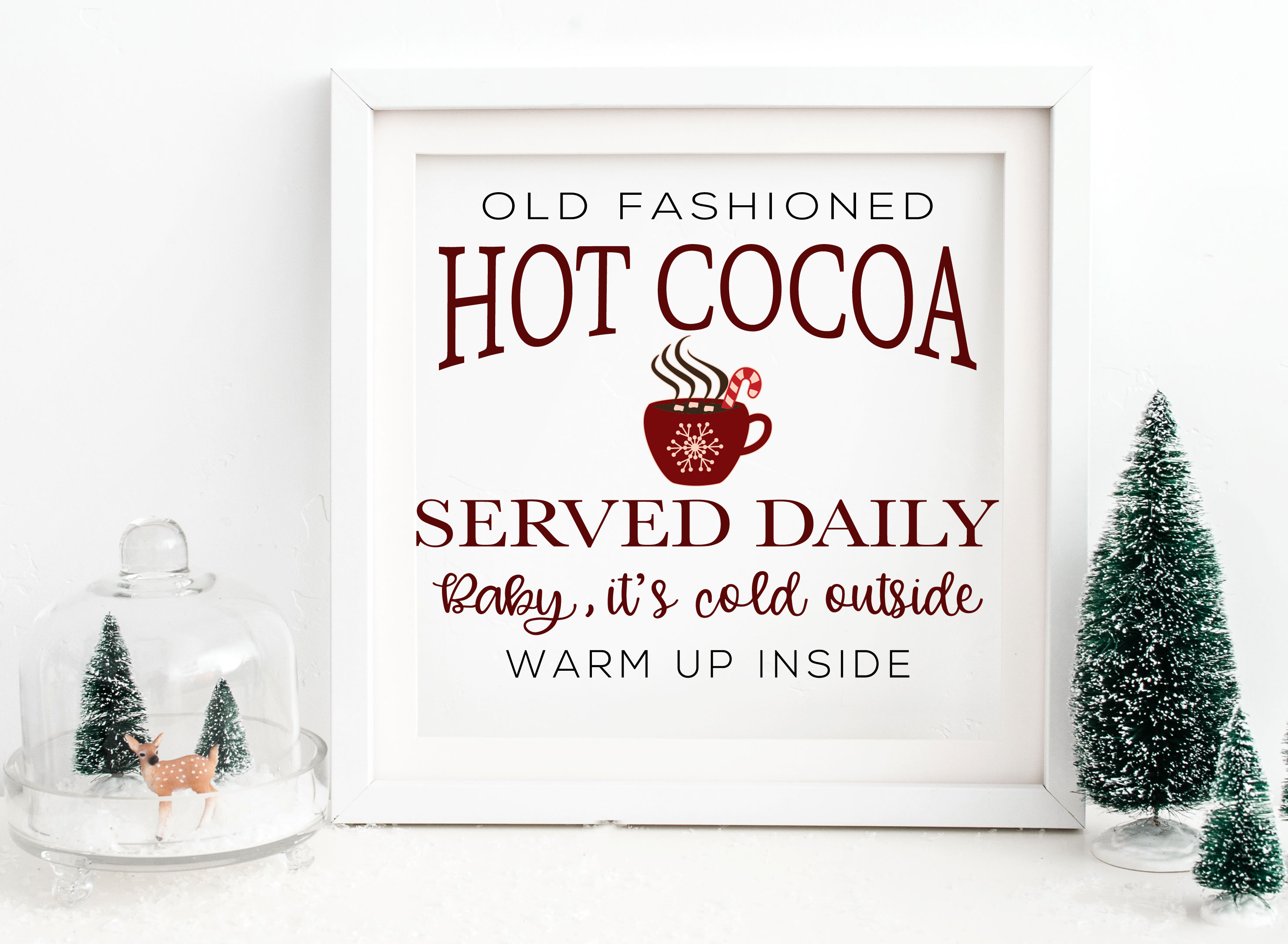 Hot Cocoa SVG example image 1