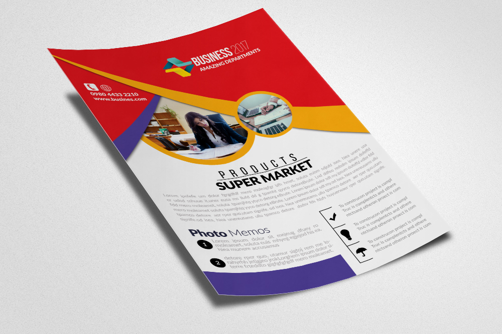 Lawyer Firm Flyer  example image 2