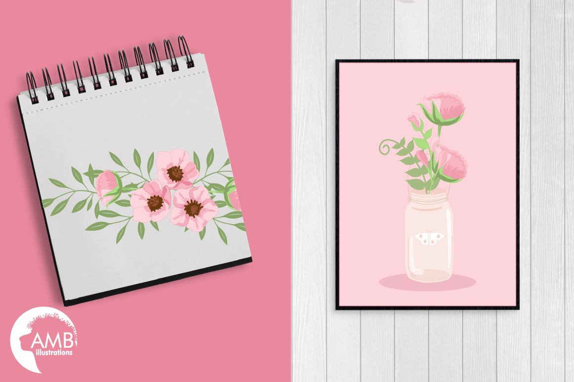 Country floral graphics and illustrations example image 3