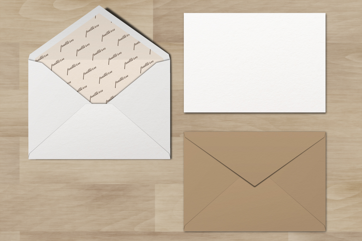 Mockup pack. Greeting Cards & Envelope. example image 5