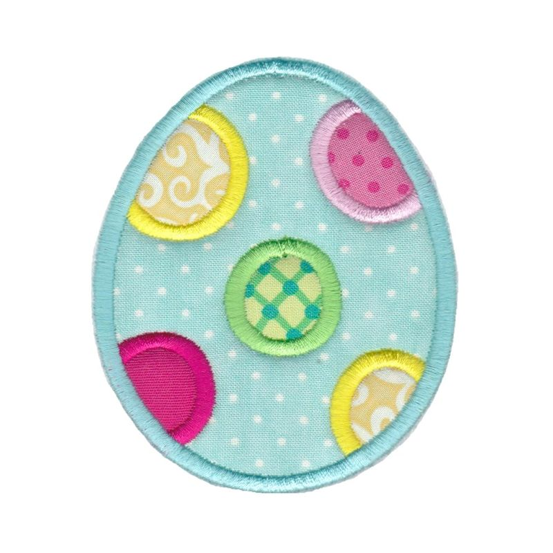 Easter Applique Too - 16 Machine Embroidery Designs example image 14