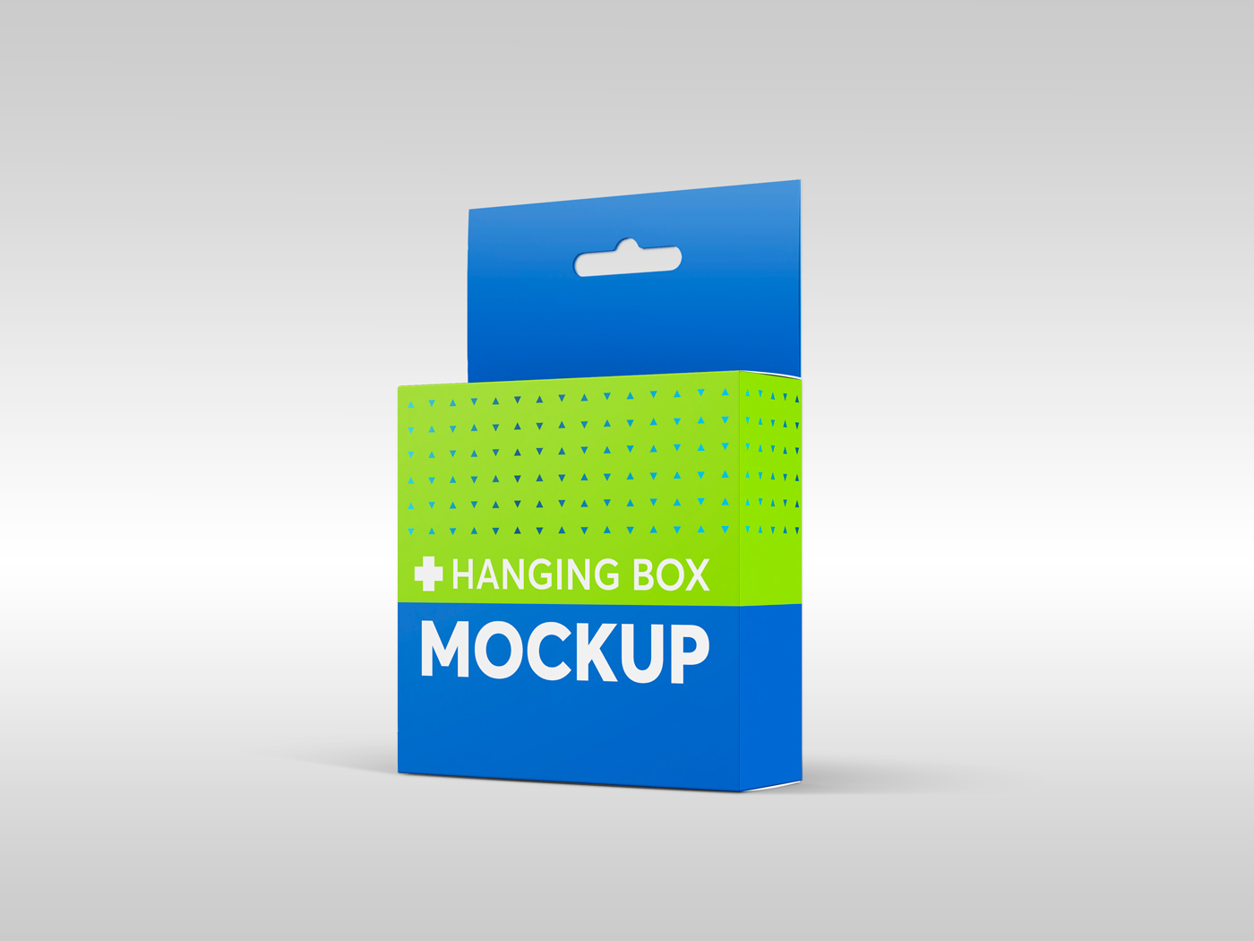 Flat Square Box with Hanger Mockup example image 13