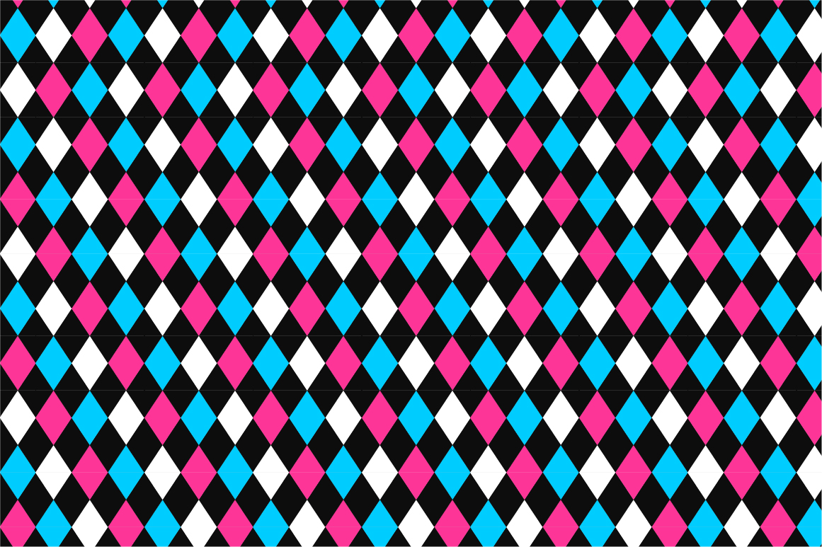 Geometric seamless color patterns. example image 4