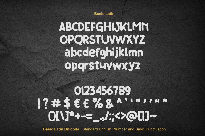 Brush Font Bundle example image 4
