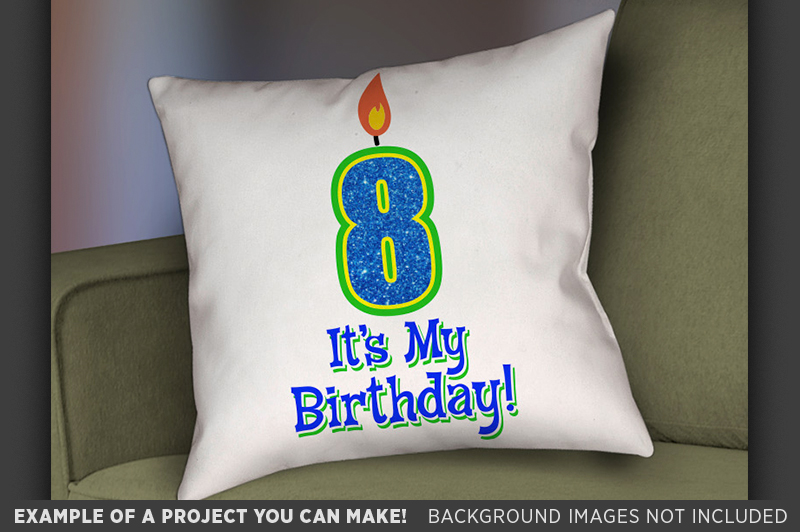 8th Birthday Svg - Its My Birthday SVG Birthday Shirt - 1035 example image 3
