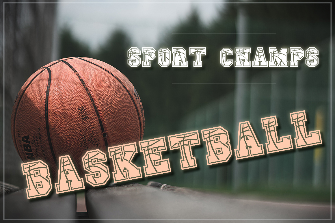 The Sport Champs Font Pack example image 13