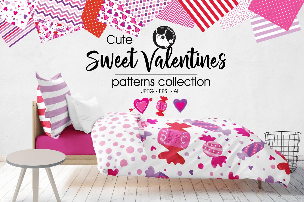 sweet-valentines digital papers example image 1
