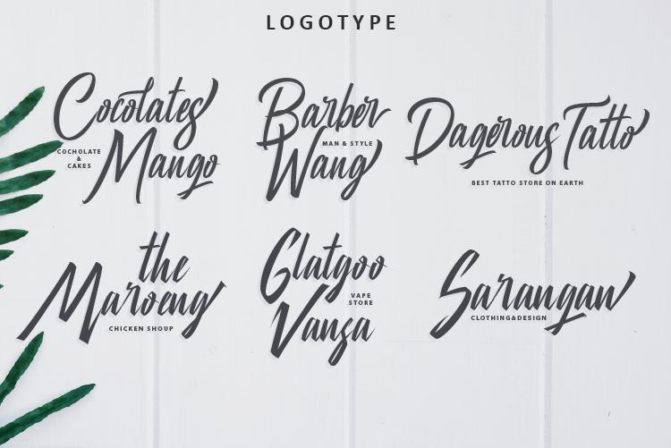 Manhatoone Script, 3 font example image 7
