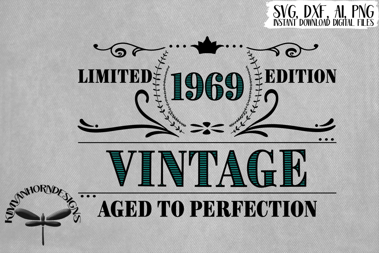 Vintage 1969 Aged to Perfection - 50th Birthday example image 1