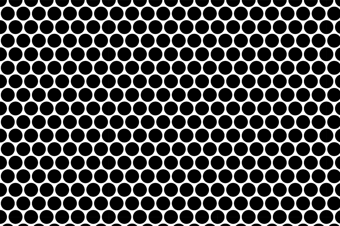 Seamless geometric patterns. 3 colors example image 7