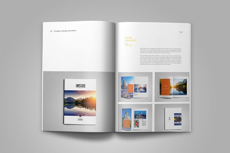 Graphic Design Portfolio Template Example Image 11