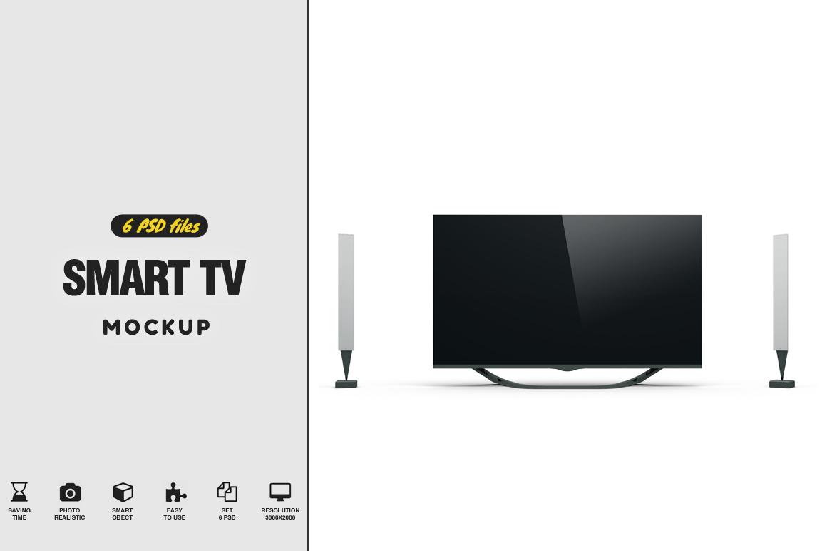 Smart TV Mockup example image 1