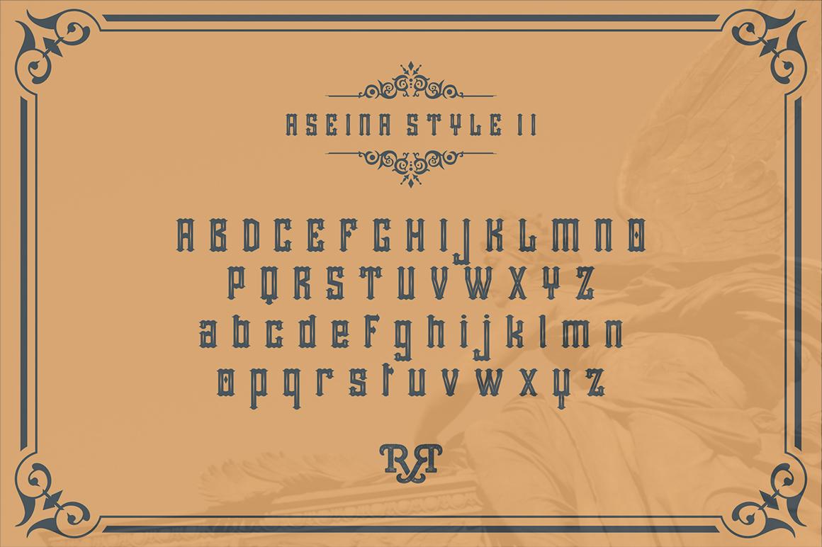 Aseina typeface example image 4