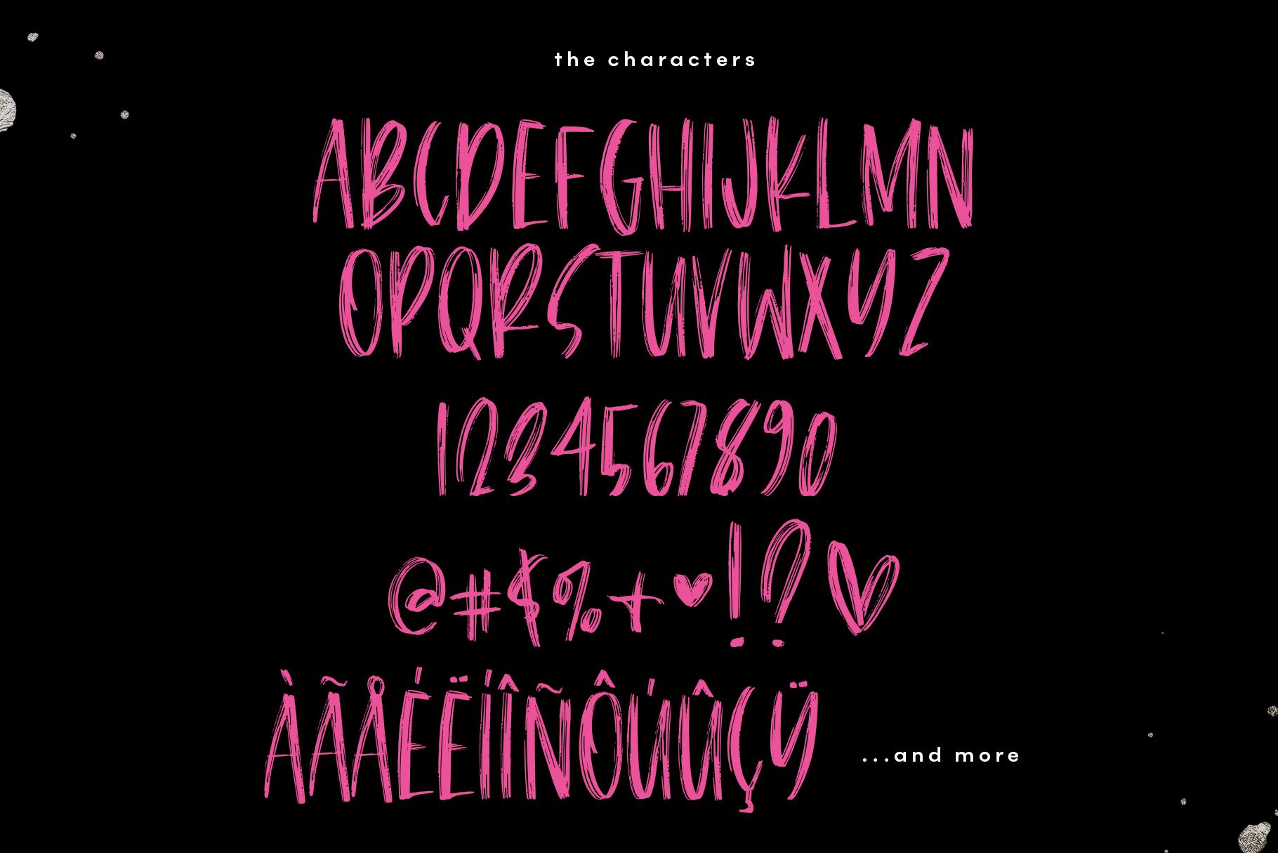 Breakroom - A Bold Handwritten Brush Font example image 12