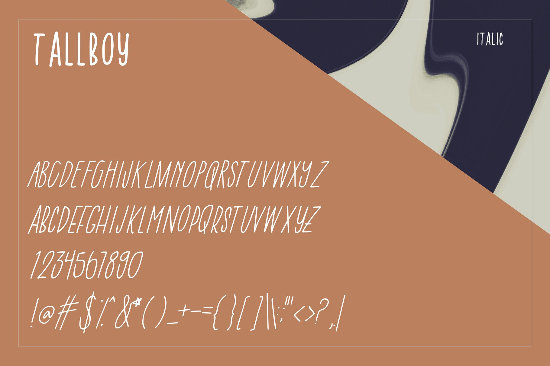 Tall Boy | Handwriting Font example image 6