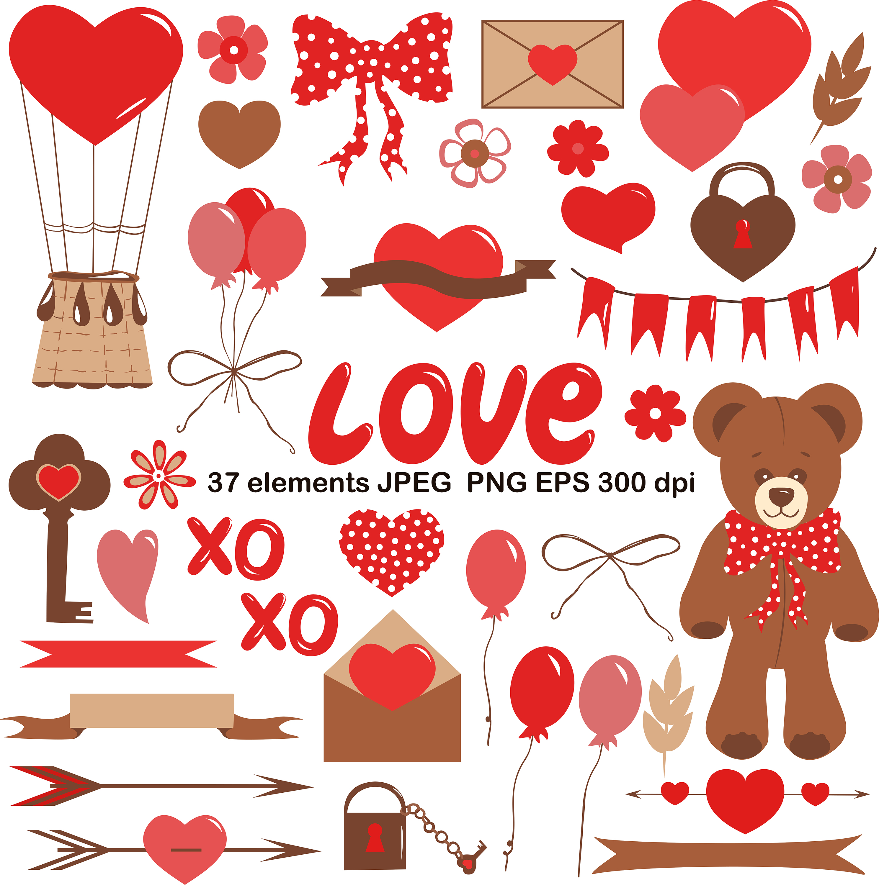 vector clipart love example image 1