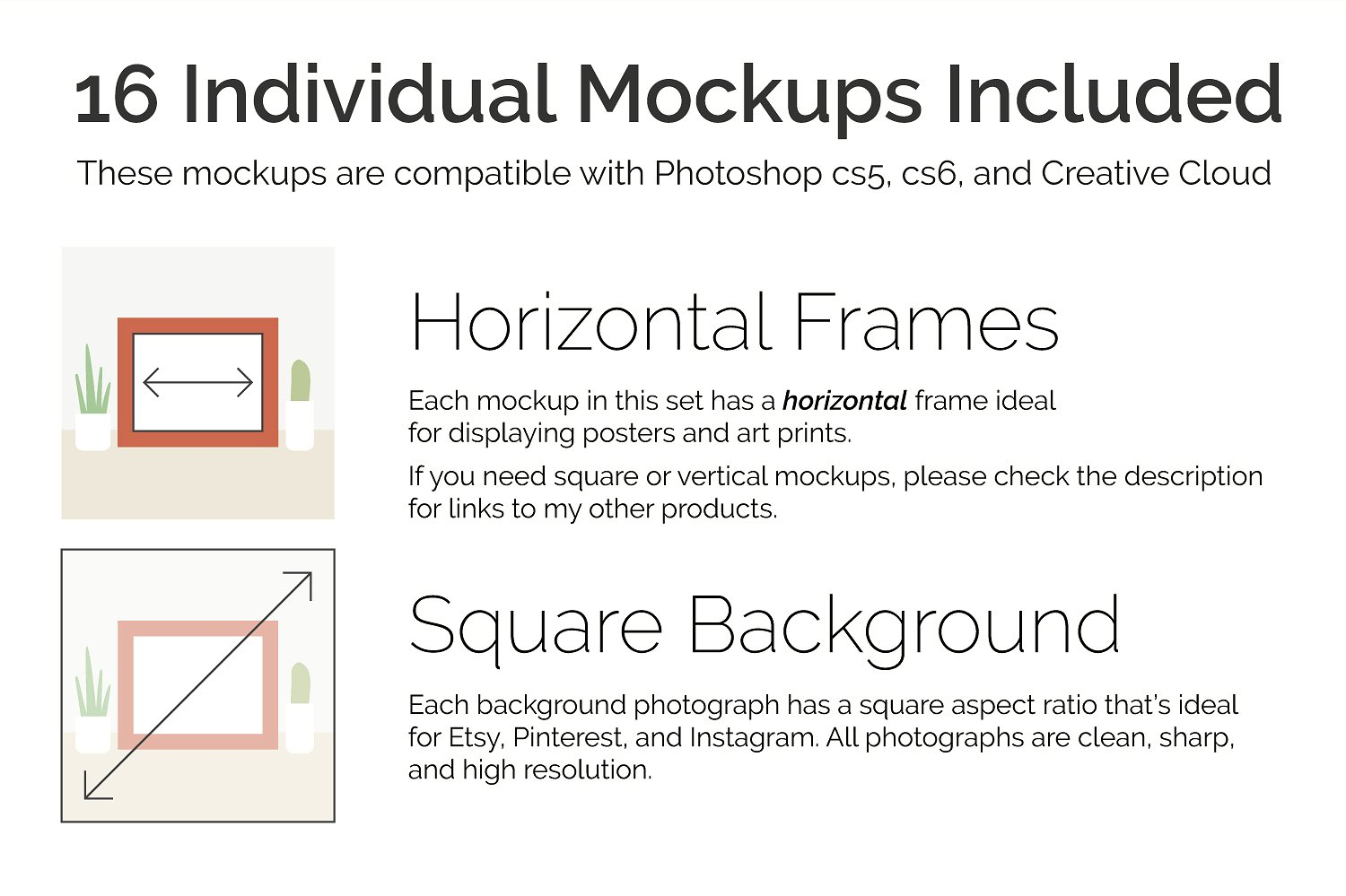 Print and Poster Mockups for Etsy and More! example image 2