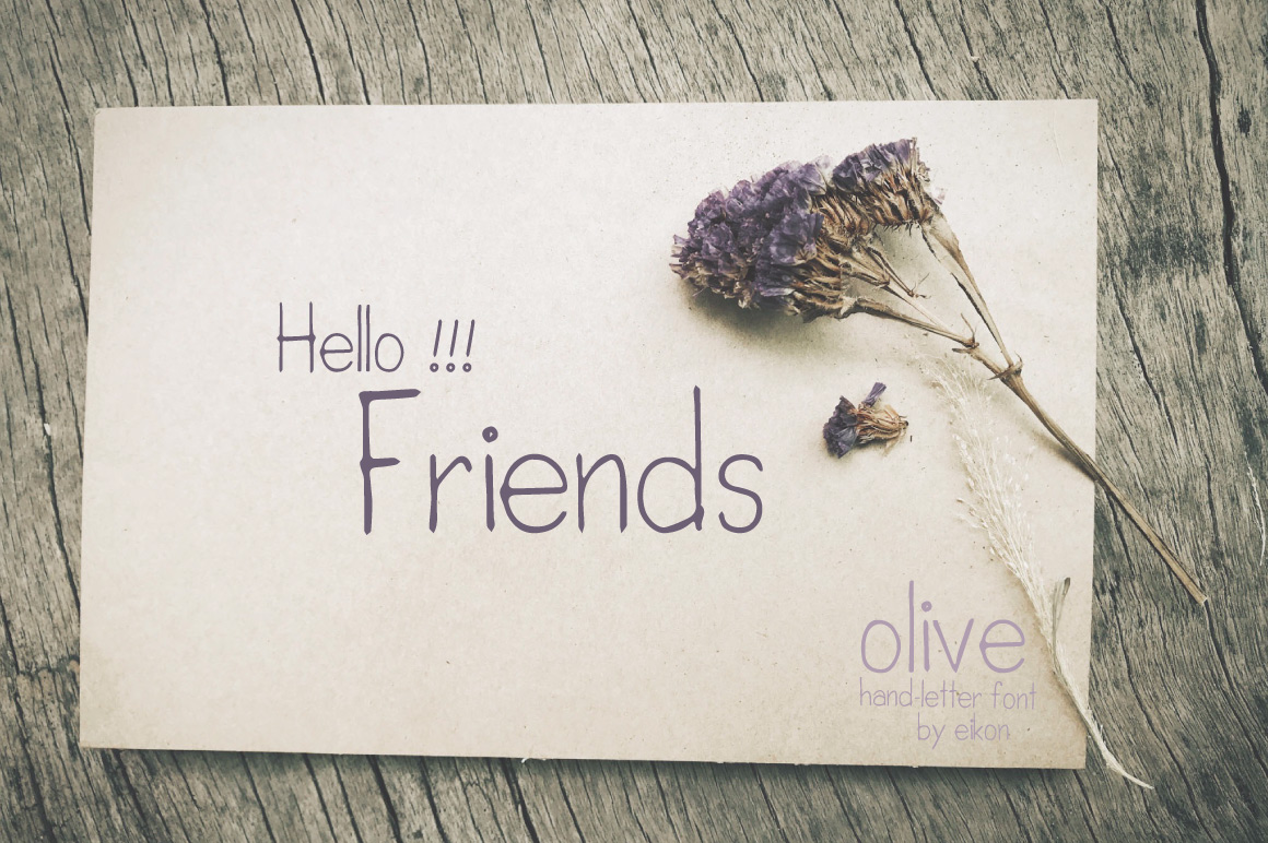 olive hand-letter example image 3