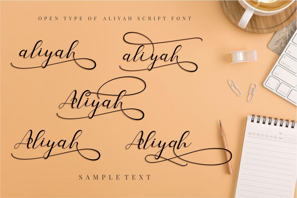 Aliyah example image 5