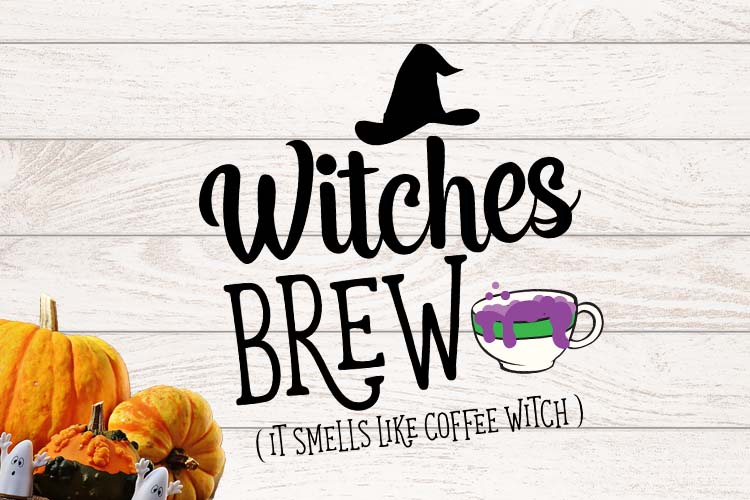 Witches Brew Halloween SVG example image 2