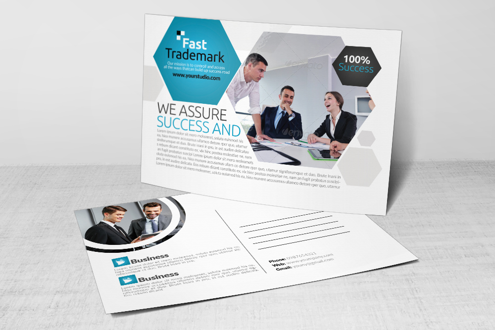 Corporate Business Post Cards example image 3