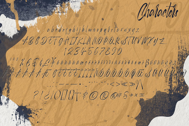 Selfakia Brush Font example image 7