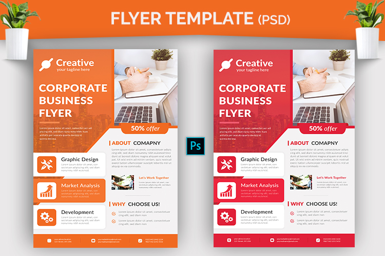 Flyer Template example image 2