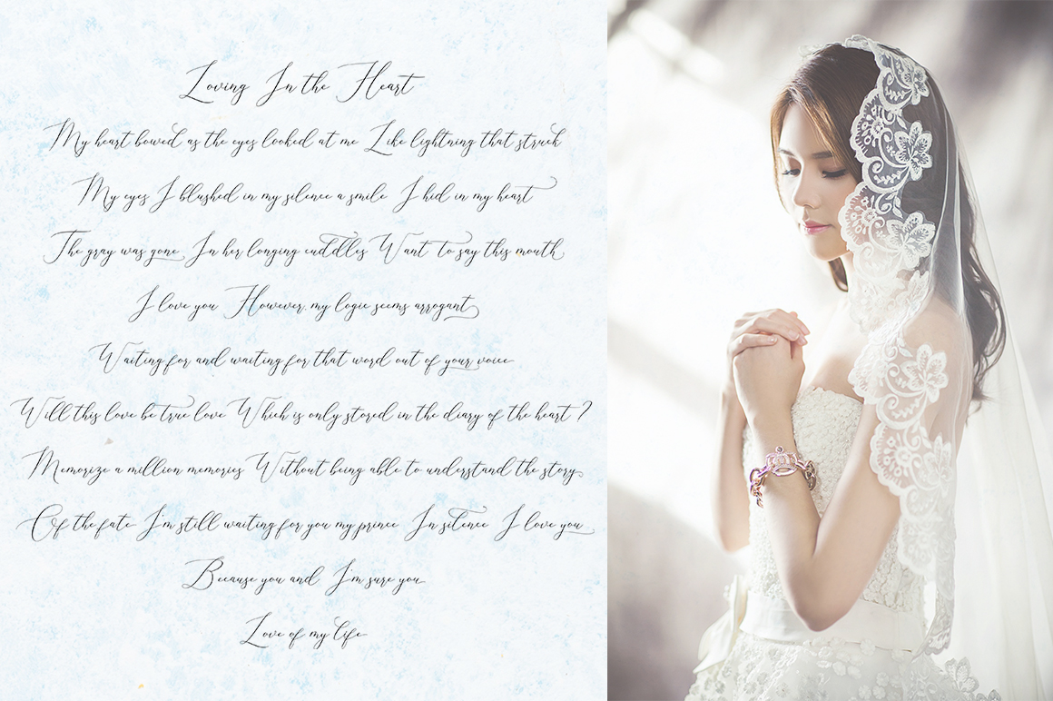 Elise Dafisa - Elegant Script Font example image 3
