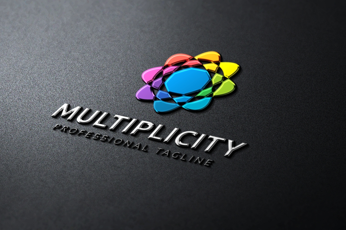 Multiplicity - Abstract Colorful Logo Template example image 4